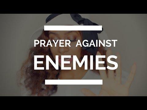PRAYER AGAINST ENEMIES