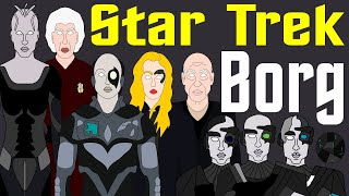 Star Trek: Complete History of the Borg