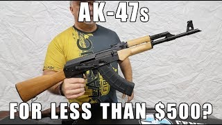 AKs For Less Than $500?