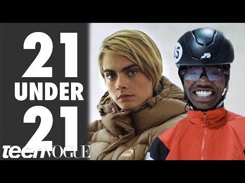Cara Delevingne Wants You To Meet Olympic Speedskater Maame Biney | 21 Under 21 | Teen Vogue