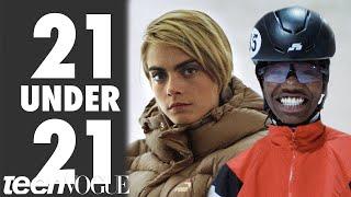 Cara Delevingne Wants You To Meet Olympic Speedskater Maame Biney | 21 Under 21 | Teen Vogue