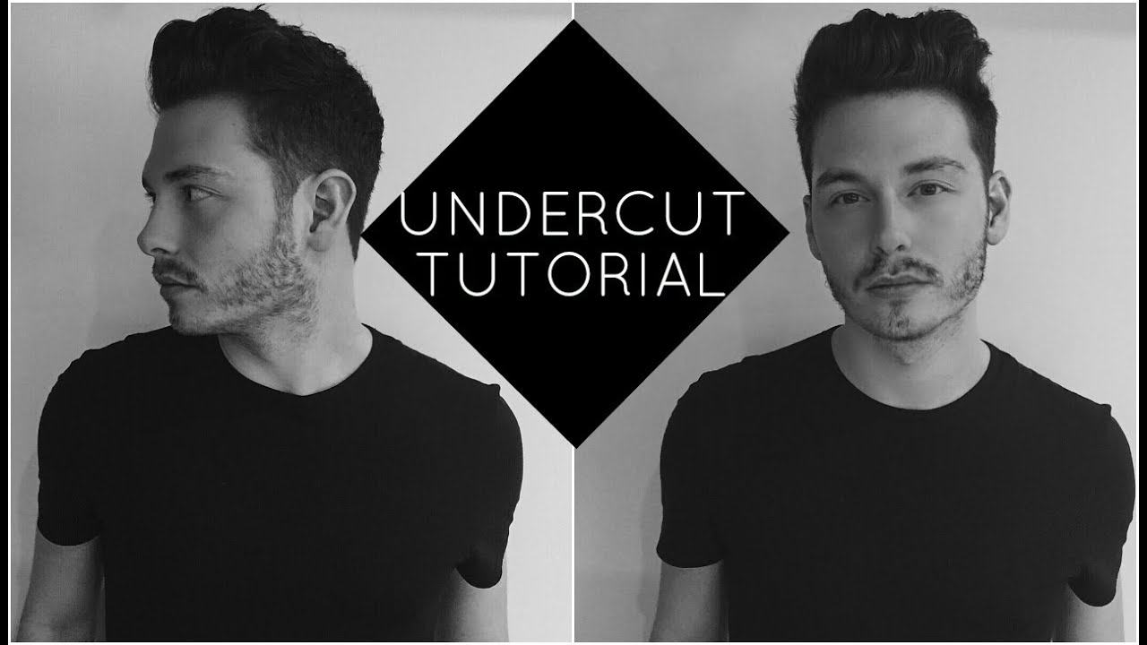 how to style an undercut with wavy hair | jake daniels - youtube