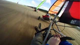 BloKart Racing at Benone Beach