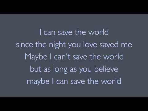 Save The World Bon Jovi lyrics