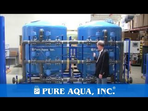 Twin Alternating Activated Carbon Filtration System USA 150 GPM | www.PureAqua.com