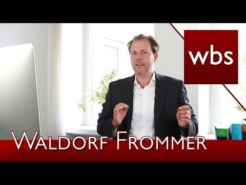Abmahnungen Waldorf Frommer - Filesharing | Kanzlei WBS