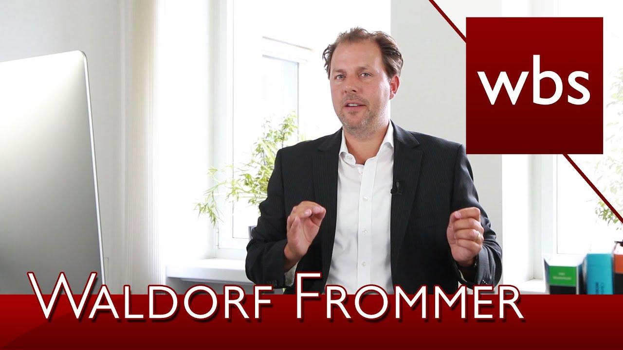 Abmahnungen Waldorf Frommer Filesharing Kanzlei Wbs Youtube