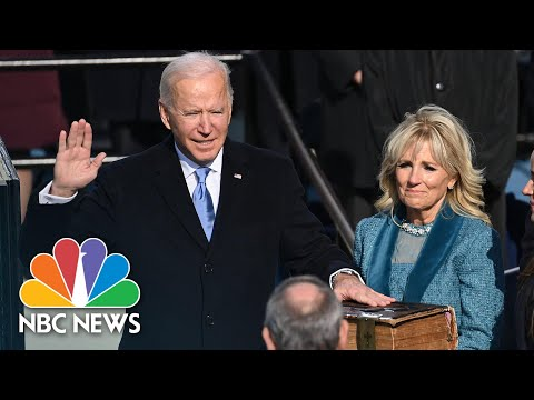 Watch Highlights From President Biden's Inauguration | NBC News NOW