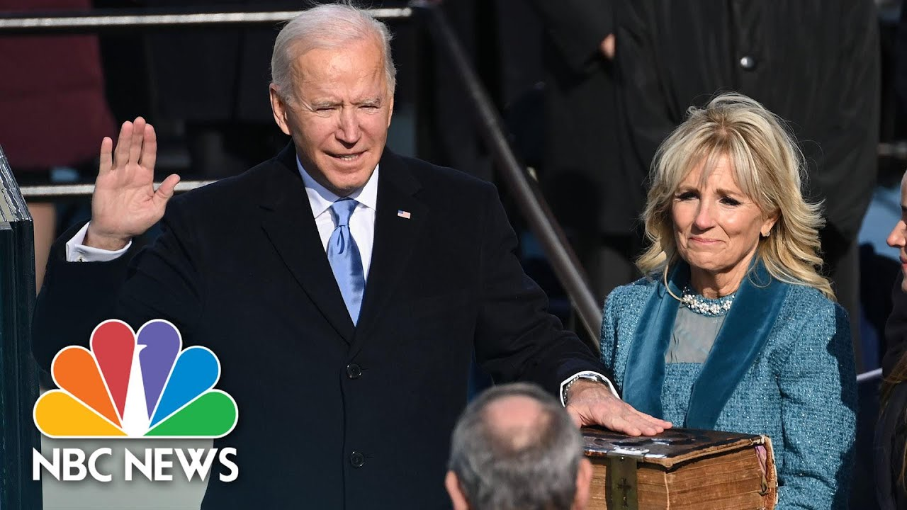 Download Watch Highlights From President Biden's Inauguration | NBC News NOW