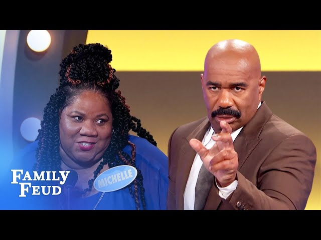 Cuff me! This is one hot breathalyzer test! | Family Feud