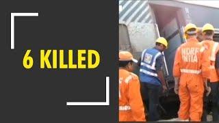 Six people killed as New Farakka express derails in North India