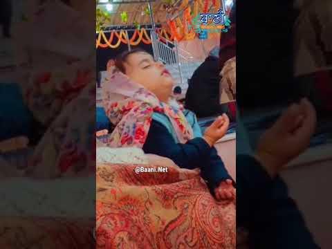 2-Years-Old-Small-Baby-Doing-Waheguru-Simran-Blesses-Moments-Baani-Ne