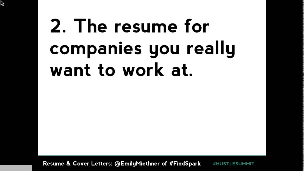 From Paper To Irl A Virtual Resume And Cover Letter Workshop Youtube