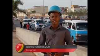Angola Magazine -Estrada Futungo Benfica Em Remodelação