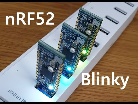 nRF52840 USB Dongle Blinky Example