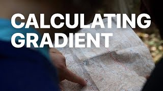 Calculating the Gradient of a Slope from a Topographic Map