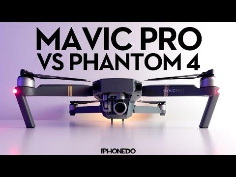 DJI Mavic Pro — Complete Comparison to Phantom 4 — In Depth Review Part 2/3 [4K]