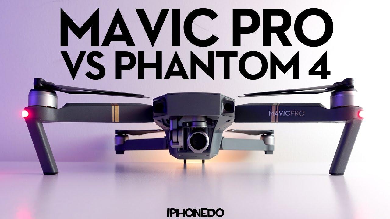 5b3da2411e0 DJI Mavic Pro — Complete Comparison to Phantom 4 — In Depth Review ...