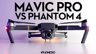 DJI Mavic Pro — Complete Comparison to Phantom 4 — In Depth Review Part 2/3 [4K]