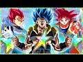 🔊 Super Saiyan Blue Gogeta! 🌈Movie Heroes NEW Category Lead Showcase! Dragon Ball Z Dokkan Battle!