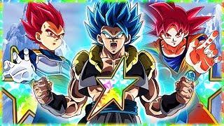 🔊 Super Saiyan Blue Gogeta! 🌈Movie Heroes NEW Category Lead Showcase! Dragon Ball Z Dokkan Battle! thumbnail