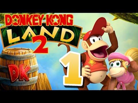 Let's Play DONKEY KONG LAND 2 Part 1: Donkey Kongs Entführung auf dem Gameboy