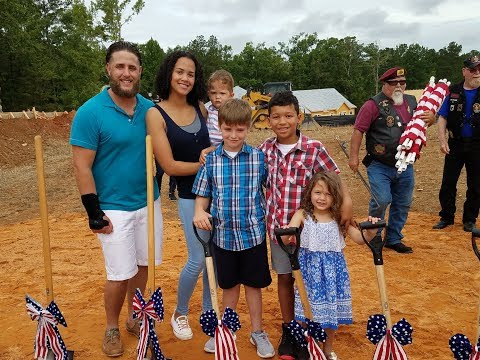 Home For Hero U.S. Marine Sgt. Keith Turnbow and Family