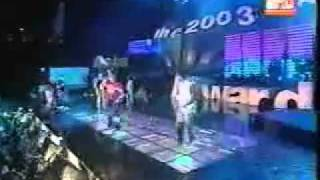 Blue - One Love (MTV Asia Awards, Singapore Indoor Stadium, 24.01.2003)