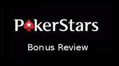 The PokerStars Deposit Bonus | PokerBonus Rating