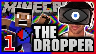 Minecraft THE DROPPER 2 with OCULUS RIFT #1 with Vikkstar & Ali-A