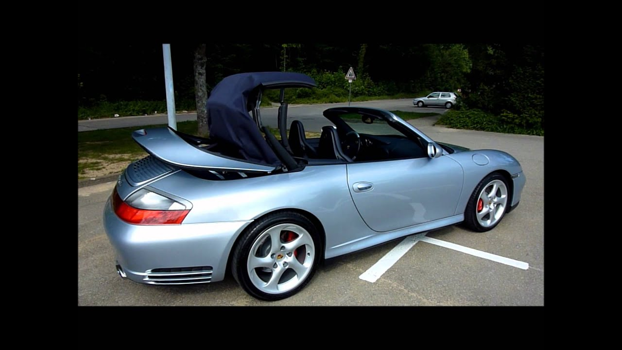 porsche 996 carrera 4s cabriolet youtube. Black Bedroom Furniture Sets. Home Design Ideas