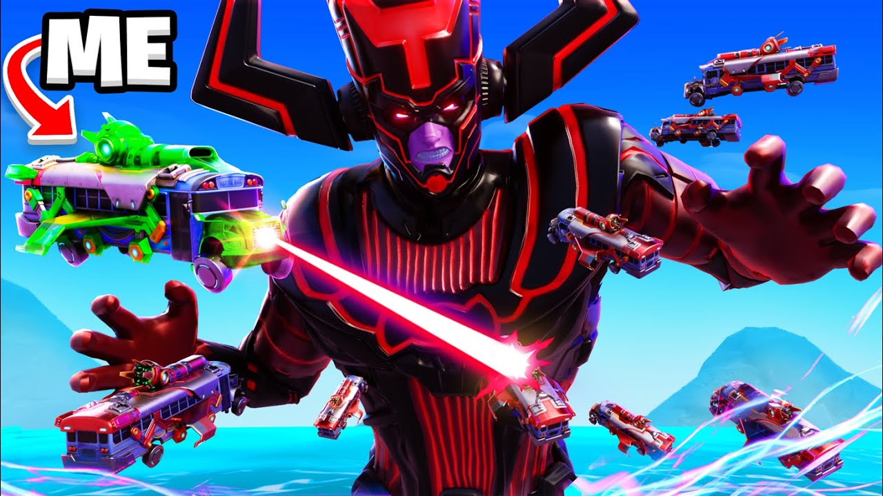 Fortnite GALACTUS Event Except I PROTECT Galactus