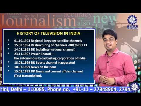 BA(JMC) || SEM-4 || LECTURE 2 || HISTORY OF T.V. IN INDIA || DEVASHISH || THE EDUCATIONAL SHOW