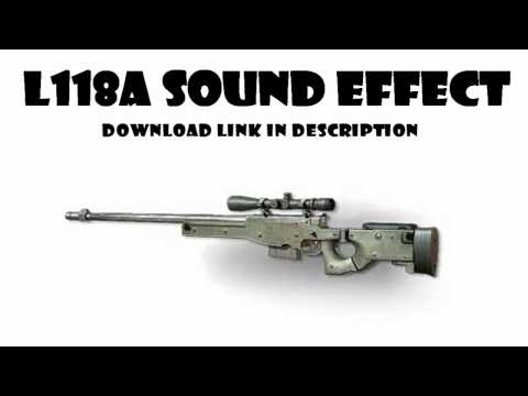 HD MW3 L118A Bolt Action Sniper Rifle MP3 Sound Effect