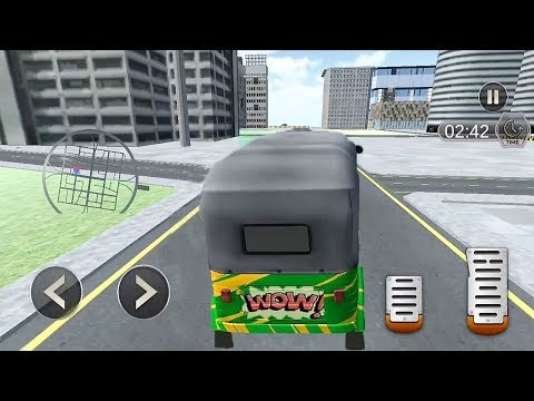 Tuk Tuk Rickshaw Driver : City Transport Game || Tuk Tuk Auto Rickshaw Game | Rickshaw Driver Racing
