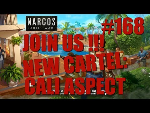 Narcos: Cartel Wars - Gameplay 168 new cartel - Everyone can join and help grow