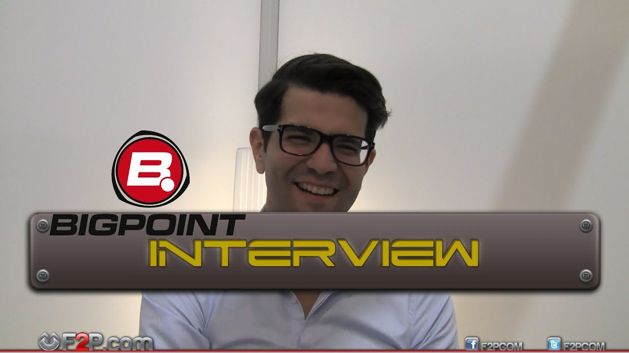 Interview with Khaled Helioui, CEO of Bigpoint - YouTube