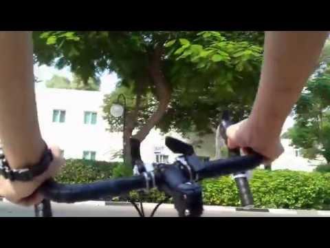 Biking In Dubai, Oasis Village To Al Khail Gate October 23, 2016