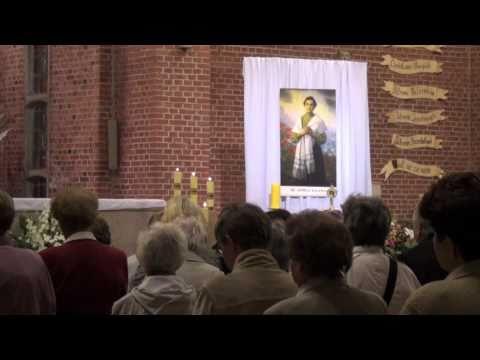 Relikwie bł. Anieli Salawy u franciszkanów w Gdyni