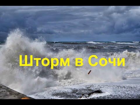 Мой ДРУГ в ШТОРМ принимал морские ванны.Лазаревское шторм 2020 Лазаревское зимой Сочи 2020 25.02.20
