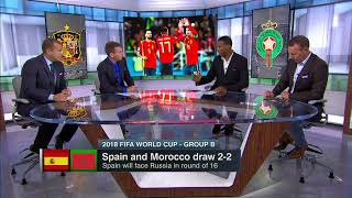 Spain vs Morocco 2 2 Post Match Discussion ESPN FC Fifa Worldcup 2018