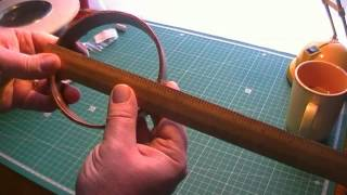Cheap and simple T2LT/Coax Dipole antenna for CB Radio PART ONE (remake from earlier video)