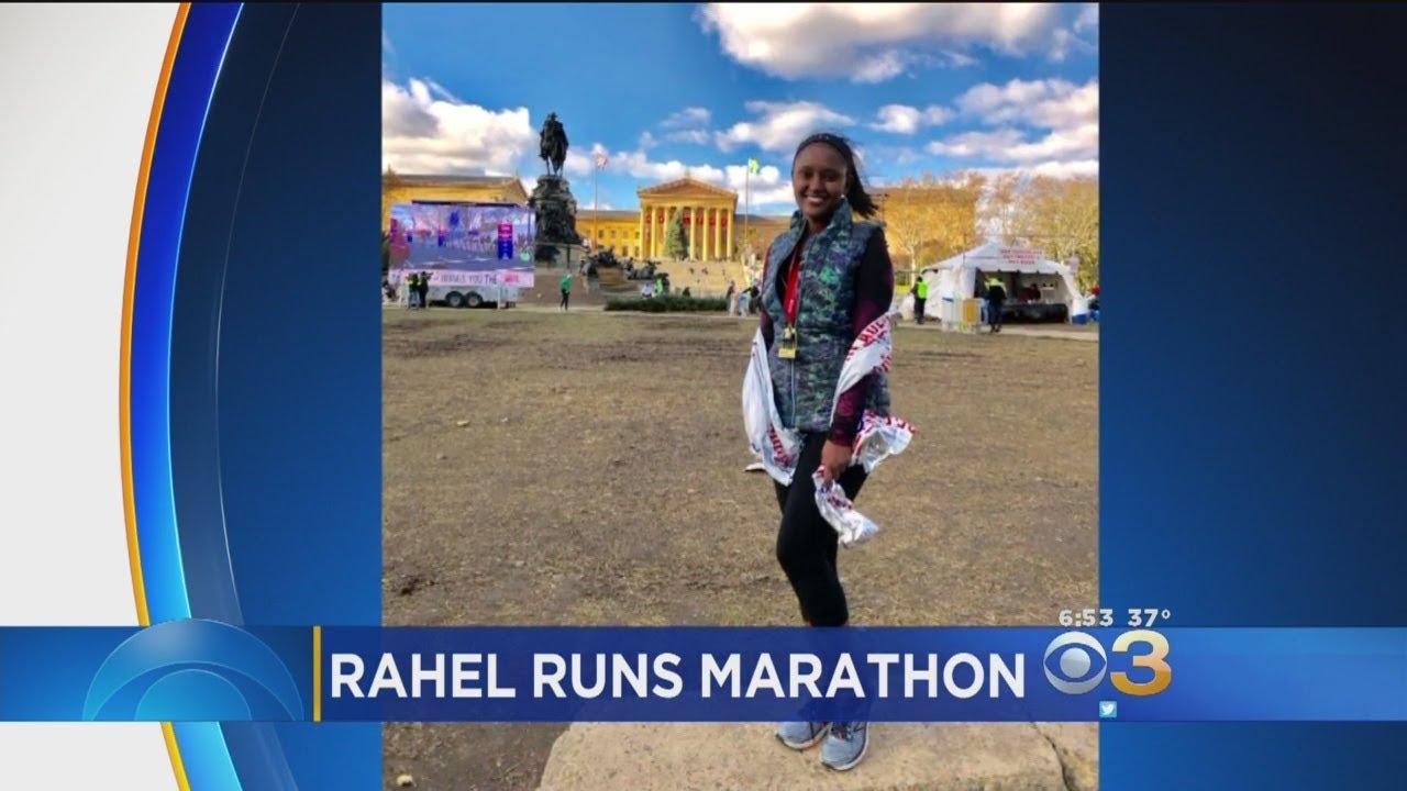 CBS3's Rahel Solomon Runs 2017 Philadelphia Marathon