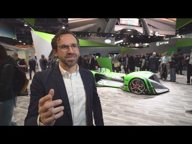 CES 2018: conoce el primer auto de carreras manejado totalmente por Inteligencia Artificial