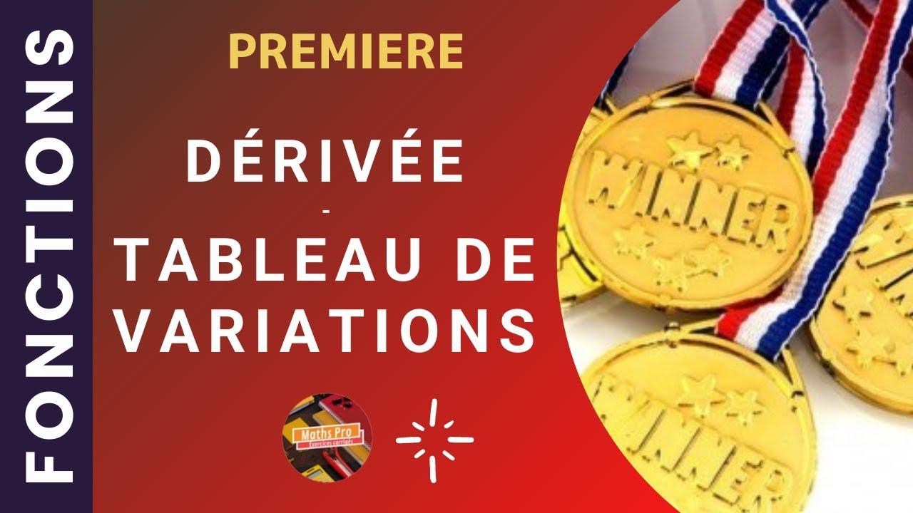 Exercice corrigé - Fonctions dérivées (2) - Bac Pro - YouTube