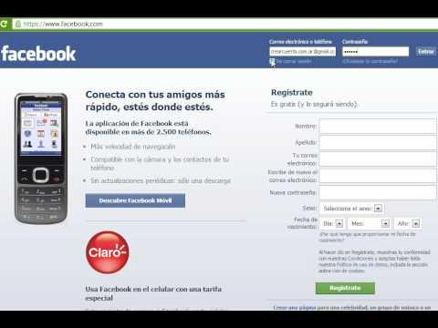 Facebook Iniciar Sesion Entrar Facebook En Espanol