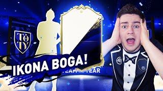 IKONA BOGA TRAFIONA! TOTY PACK OPENING! | FIFA 20 JUNAJTED