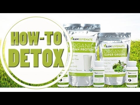 How to Detox with Rawjuvenate: The Best Vegan, Organic & Gluten-Free Cleanse