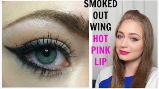 Стрелки и розовые губы / Весенний макияж: видео-урок