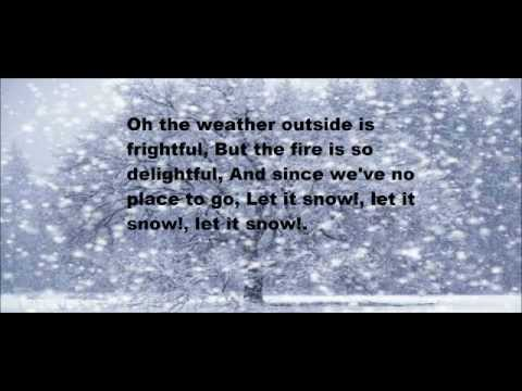 Dean Martin Let It Snow Lyrics - YouTube